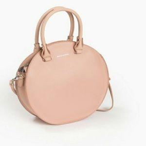 NWOT Melie Bianco Estee Faux Leather Circle Bag